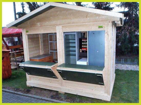 Dřevěný domek 3x2m